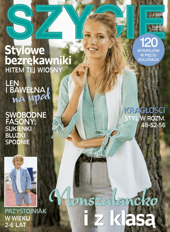 Časopis-Šití-2/2018-pl