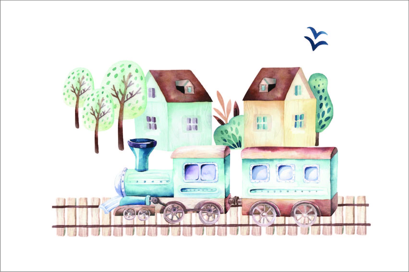 2.-třída---látka-bavlněné-plátno-premium-panel-l-60x40-trains/vláčky