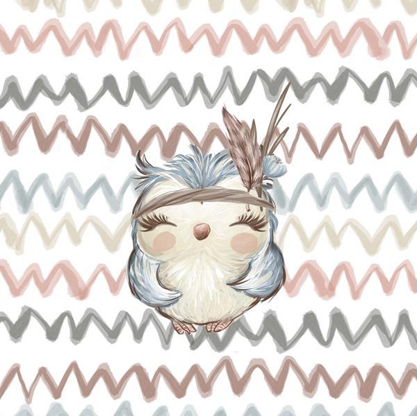 2.-třída---látka-bavlněné-plátno-premium-panel-m-forest/les-bílý---sova