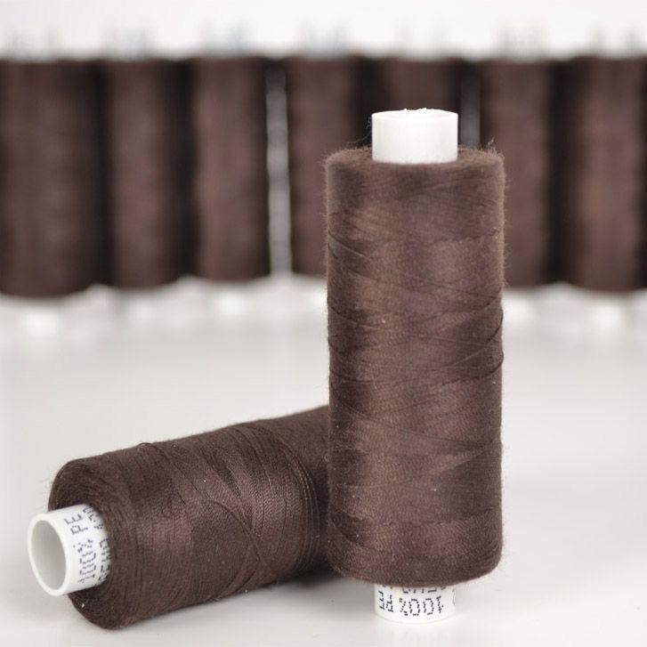 polyesterová-nit-arena-500-m-barva-tmavě-hnědá