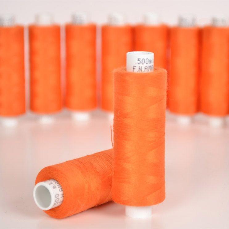 polyesterová-nit-arena-500-m-barva-oranžová