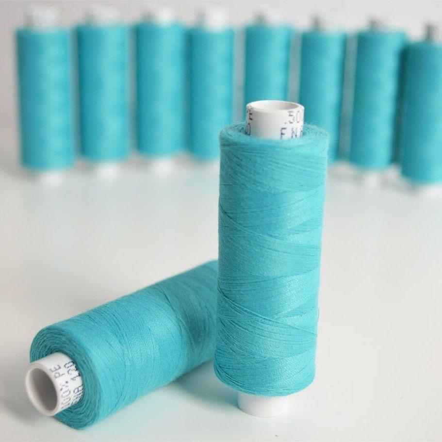 polyesterová-nit-arena-500-m-barva-tyrkysová