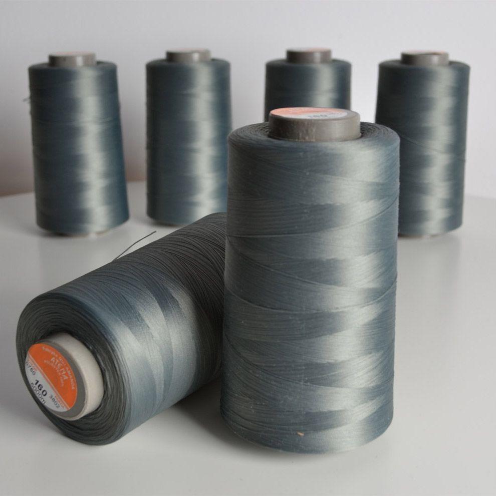 overlock-/-coverlock-elastická-nit-atena-5000-barva-šedá-160