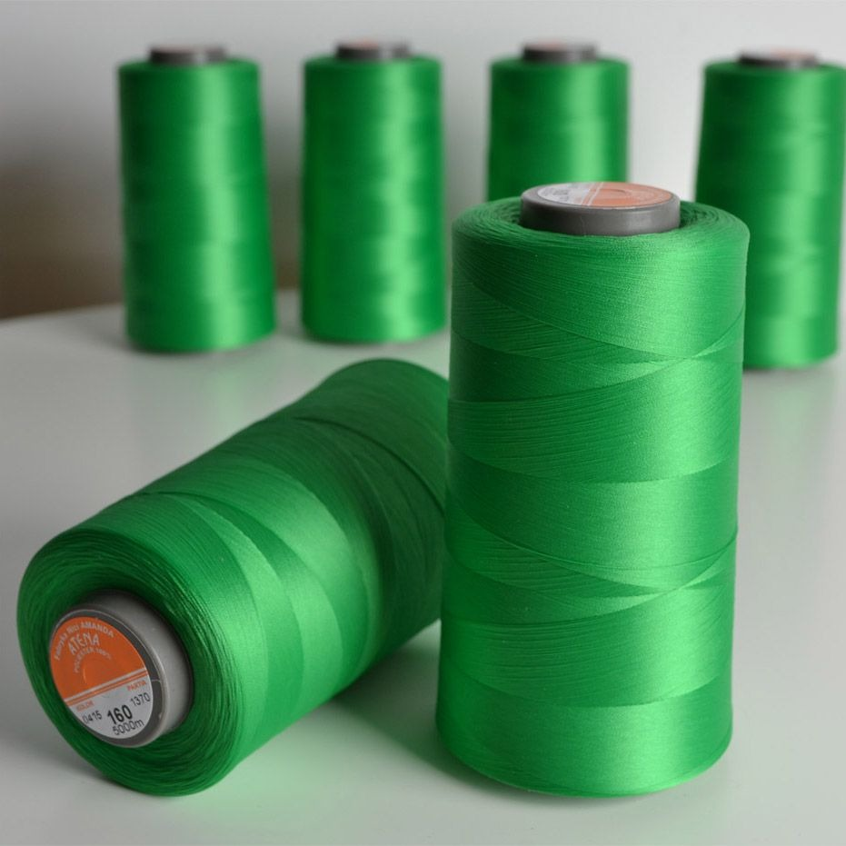 overlock-/-coverlock-elastická-nit-atena-5000-barva-zelená-tráva-160