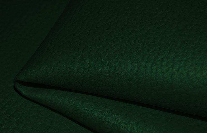 látka-ekokůže-(koženka)-barva-tmavě-zelená-d13