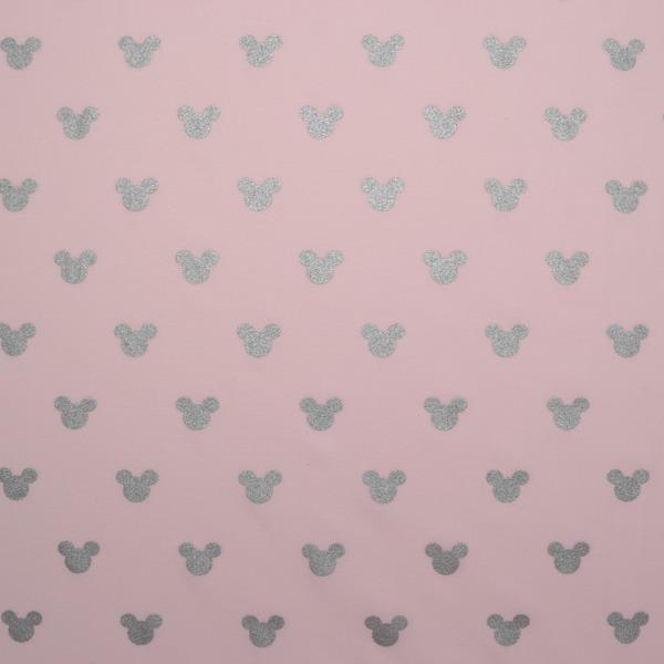 látka-bavlněné-plátno-premium-stříbrné-myšky-na-světle-růžové
