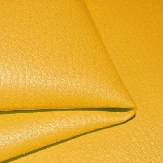 látka-ekokůže-(koženka)-barva-hořčicová