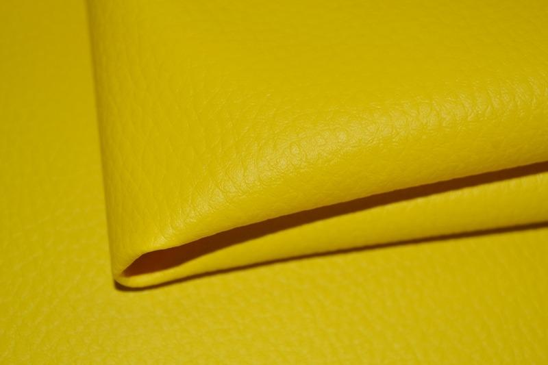 látka-ekokůže-(koženka)-barva-žlutá