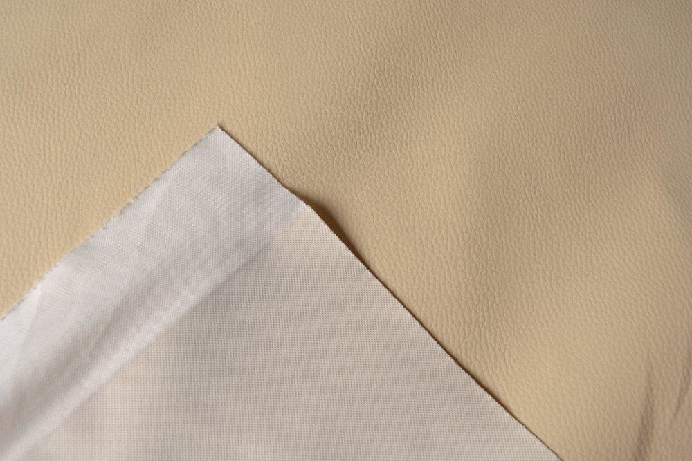 látka-ekokůže-(koženka)-barva-máslová