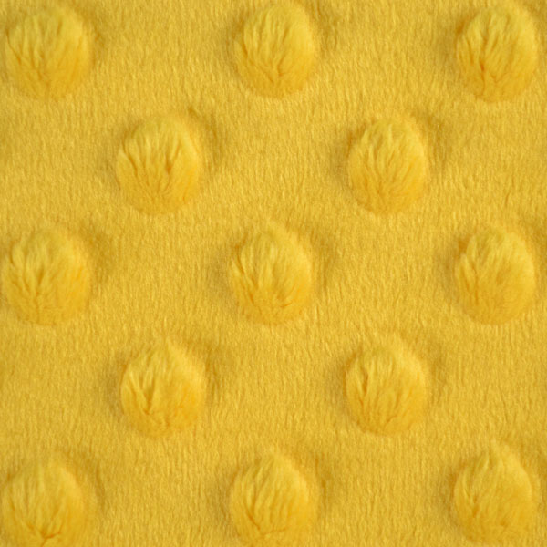 látka-minky-sytá-žlutá