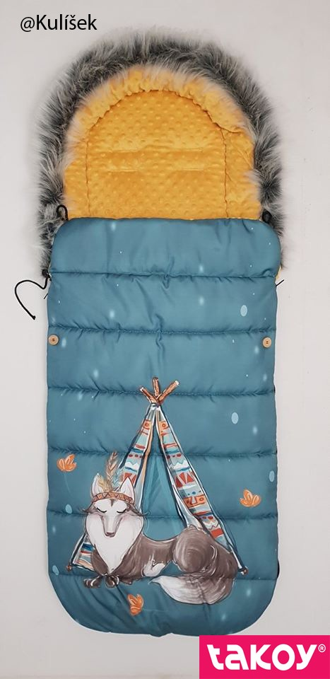 panel-na-fusak-z-nepromokavého-polyesteru-155x105-vzor-indiana-boy-tyrkys-vlk