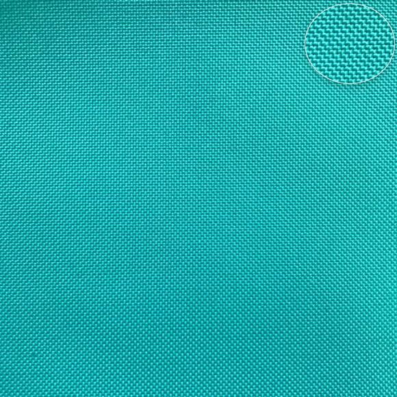látka-nepromokavý-polyester/kočárkovina-lesní-tyrkysový