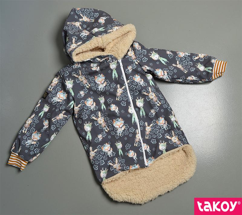 látka-softshell-zimní-bunny