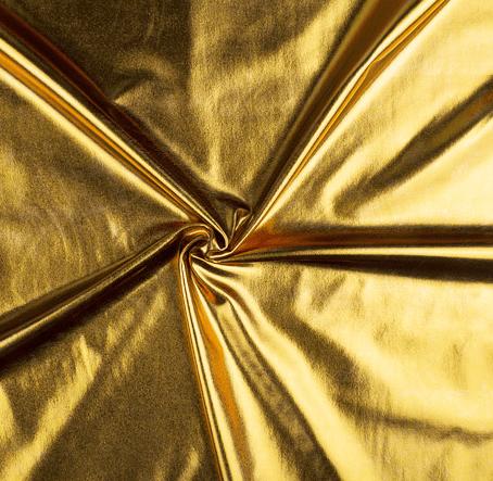 látka-polyesterový-úplet/-lame-zlatý