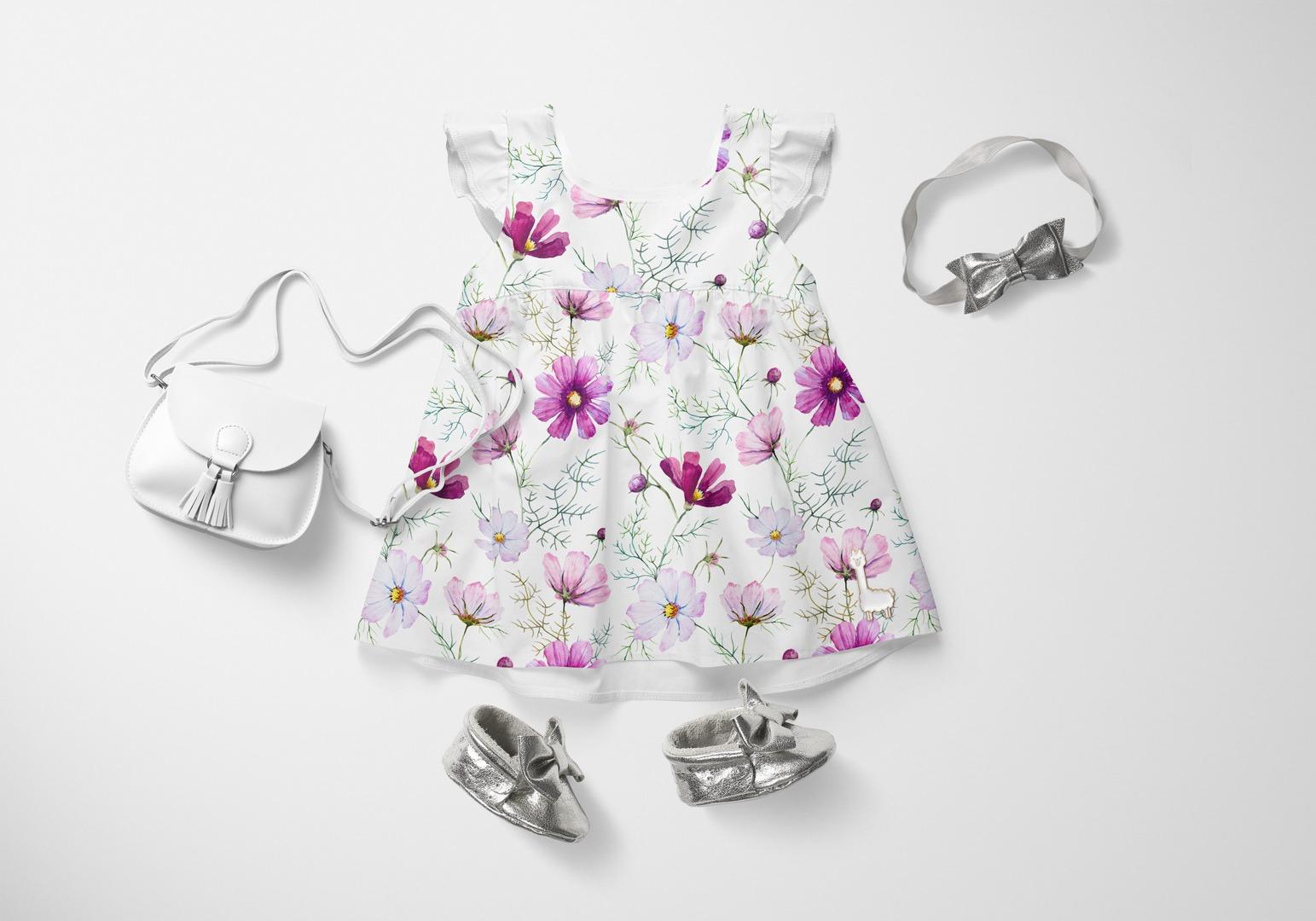 látka-bavlněné-plátno-premium-wild-flowers
